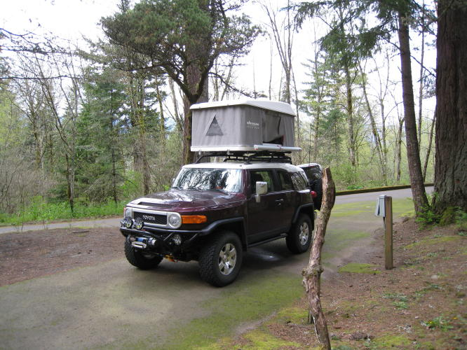 Awning is not deployed though below. & Rooftop tents - Page 2 - YotaTech Forums