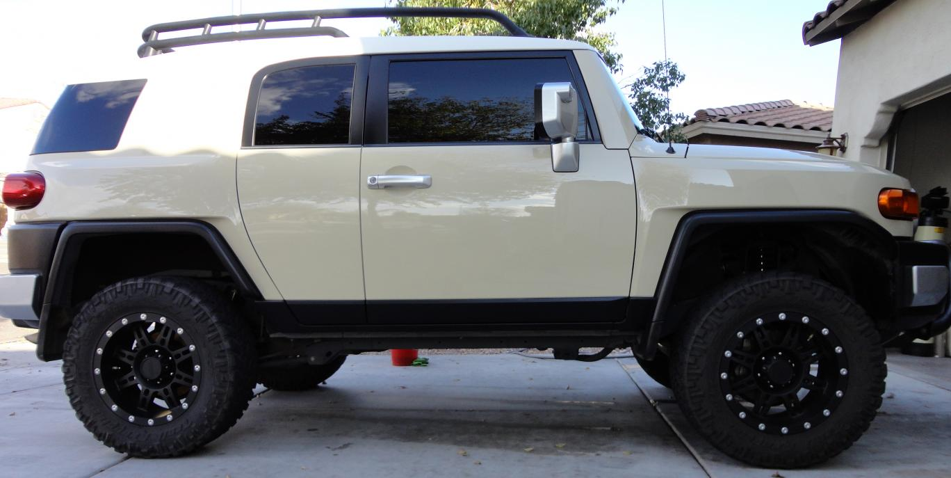 2008 Fj 3in Lift Pro Comp Wheels For Sale 23 000