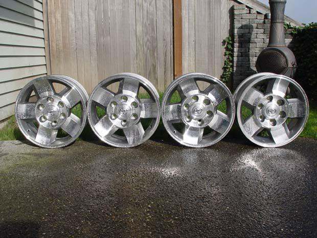 4 Or 5 16 Quot 2010 Oem 5 Spoke Alloy Wheels Toyota Fj