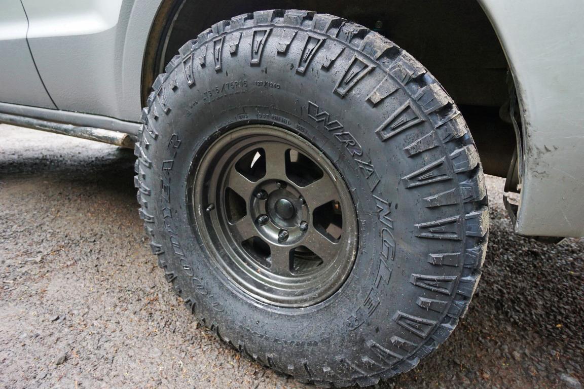 toyota fj cruiser forum view single post goodyear wrangler duratrac  tires
