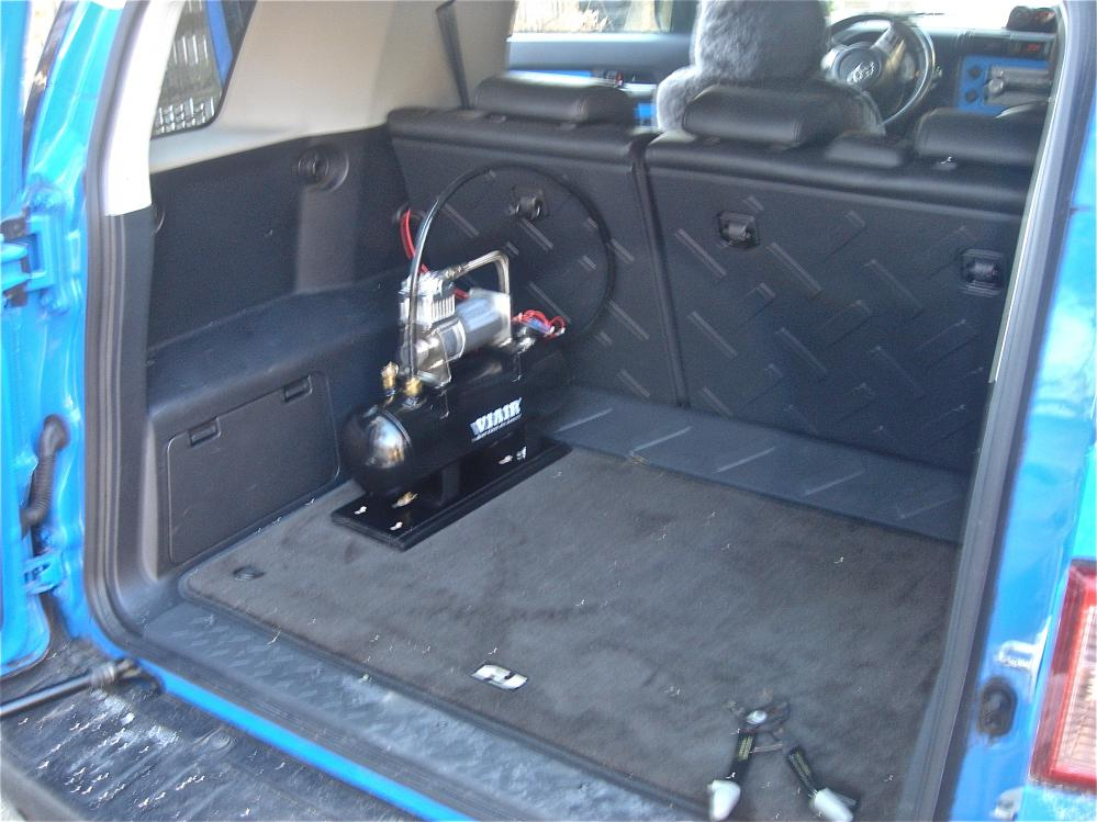 Air Horn Compressor >> Just installed train horns today - Toyota FJ Cruiser Forum