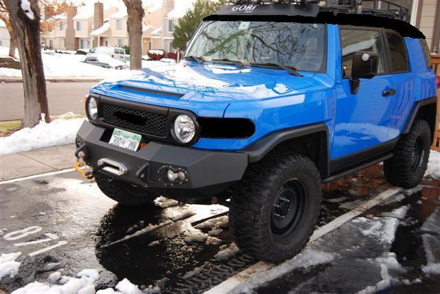 Black on Blue  Page 2  Toyota FJ Cruiser Forum
