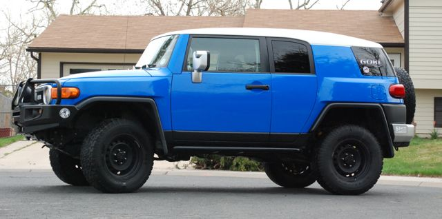 Voodoo Blue Fj for Sale in CO  Toyota FJ Cruiser Forum