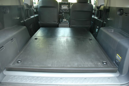 Full Rear Seat Removal Pics And Divider Page 2 Toyota