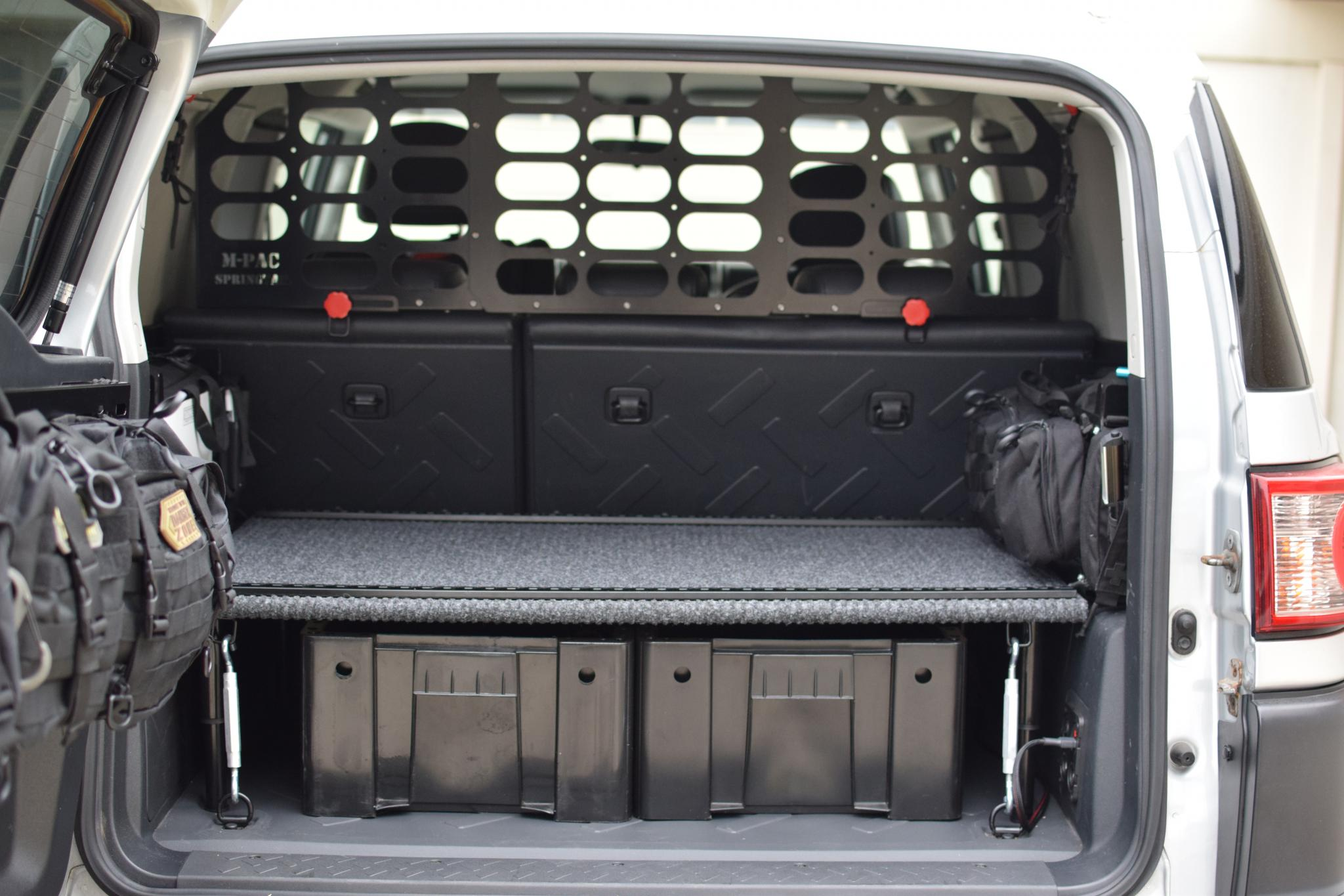 Build A Toyota >> An easy to build and cheap rear storage solution - Toyota ...
