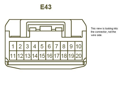aux input to avic d3 toyota fj cruiser forum pioneer double din wiring-diagram name e43connector jpg views 7806 size 22 2 kb