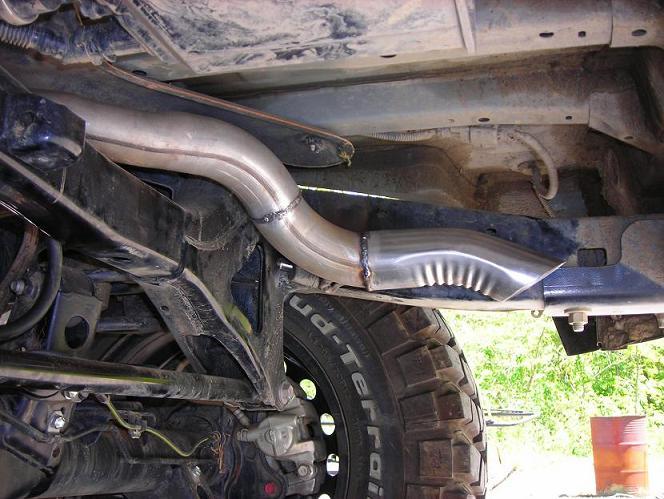 My 4 00 High Clearance Exhaust Toyota Fj Cruiser Forum