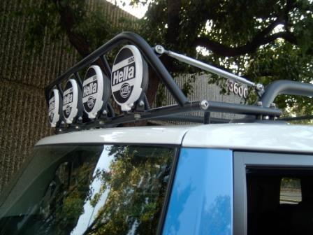 Offroad Unlimited Roof Rack Light Bar Page 2 Toyota Fj