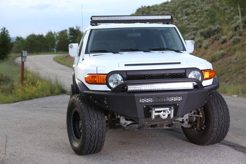 Bumper Build Toyota Fj Cruiser Forum