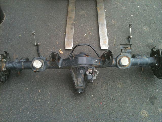 Complete Rear Oem Axle Rear Sway Bar Auto E Locker