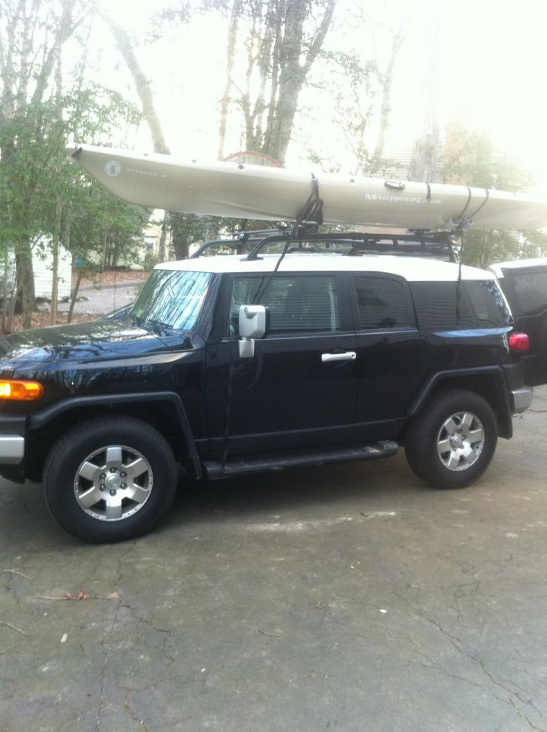 What Is Best Kayak Roof Rack System Page 3 Toyota Fj