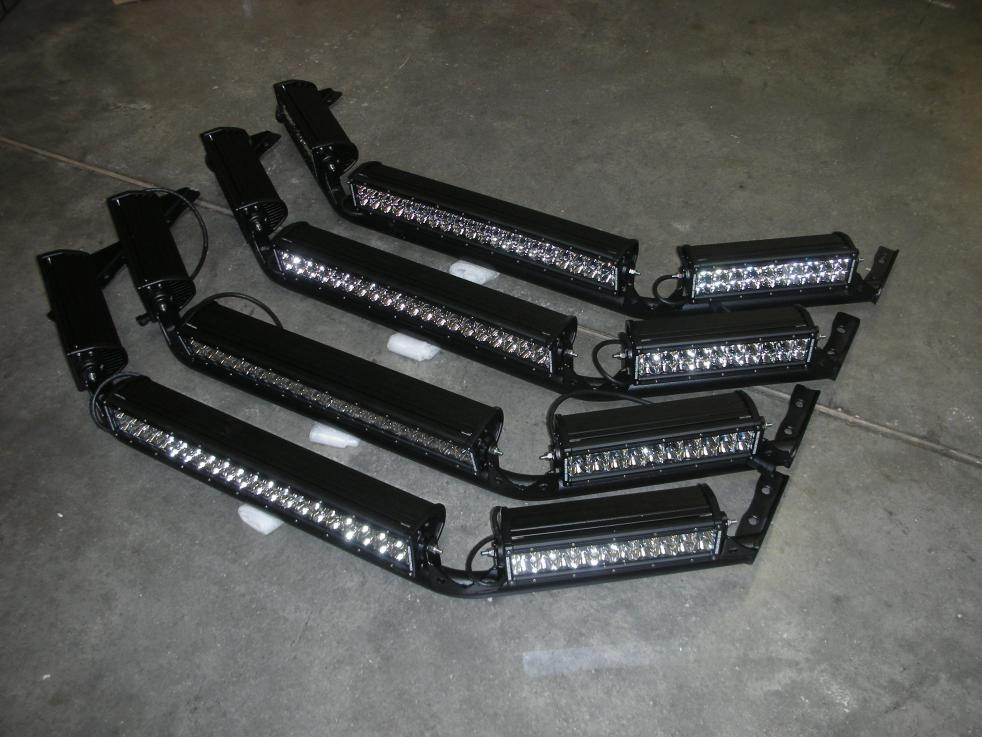 Rigid industries fj cruiser oe factory roof rack light bar special click image for larger version name fj oe rogid light barg views aloadofball Gallery