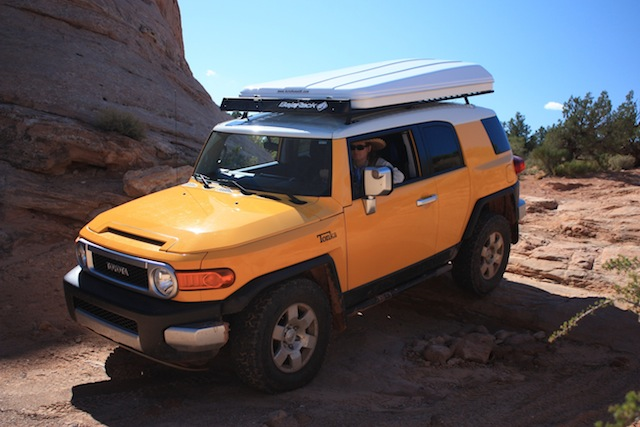 Click image for larger version Name FJ rock crawling Arches N.P..JPG Views & Maggiolina AirLand Roof Top Tent - Page 7 - Toyota FJ Cruiser Forum