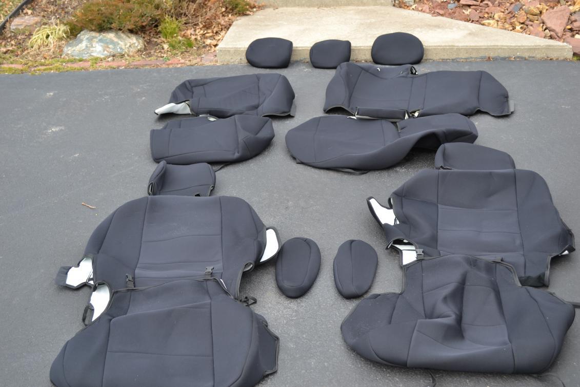 Fs Coverking Seat Covers Black Neoprene Toyota Fj