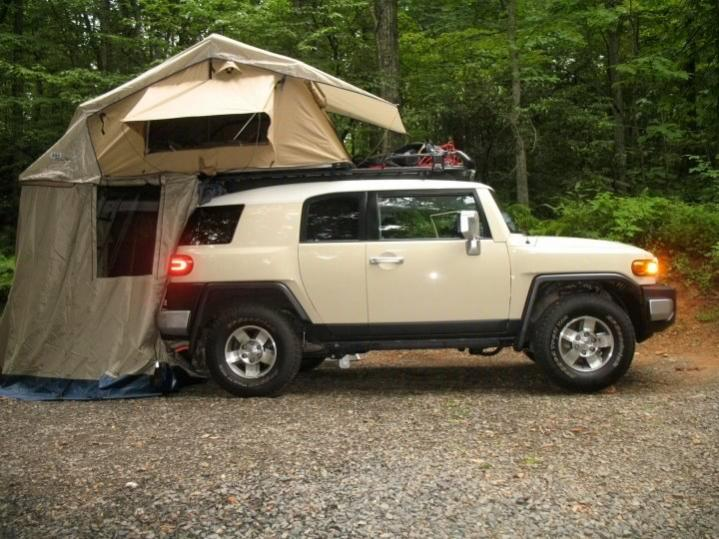 Click image for larger version Name FJ Tent 1.jpg Views 5057 Size ... & Tent Suggestions? - Page 2 - Toyota FJ Cruiser Forum