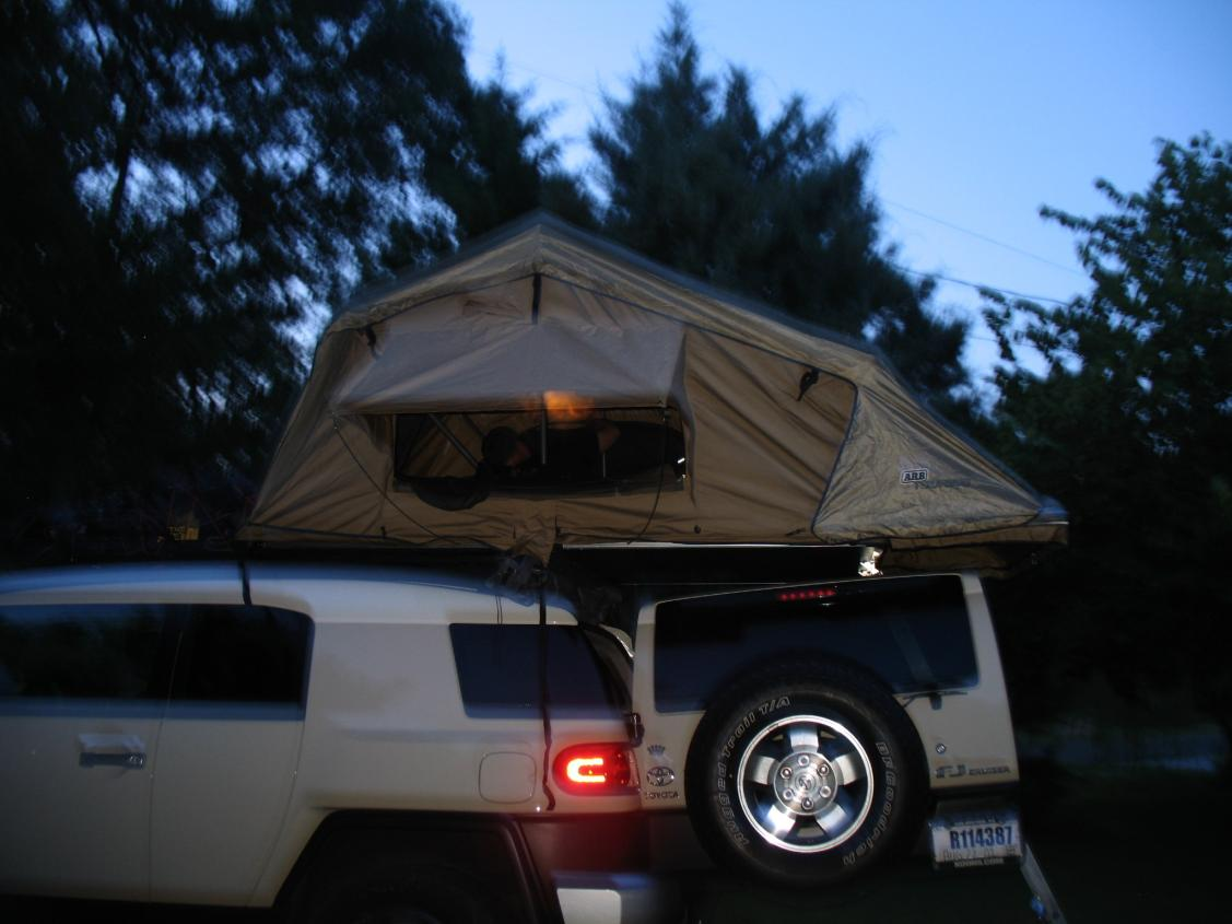 Click image for larger version Name FJ Tent 5.jpg Views 8074 Size & Maggiolina Air Top Tent - Toyota FJ Cruiser Forum