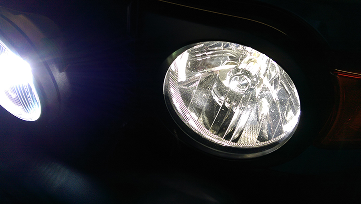 Installed KC pro-sport, Phillips Ultinon, and new LED bulbs-fj_hl_close.jpg