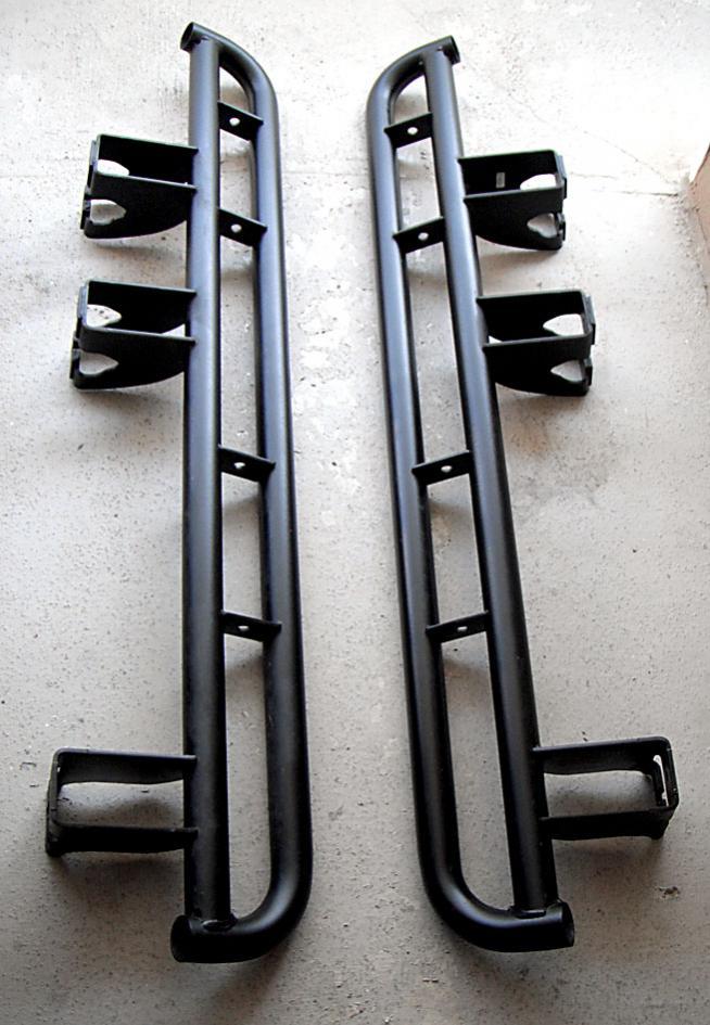 two styles of oem rock rails
