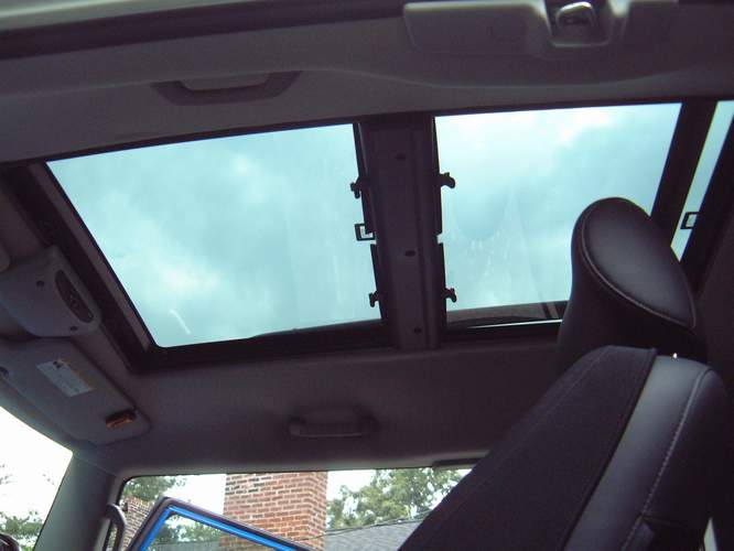 Gobi Stealth Installed Over A Webasto Panoramic Sunroof