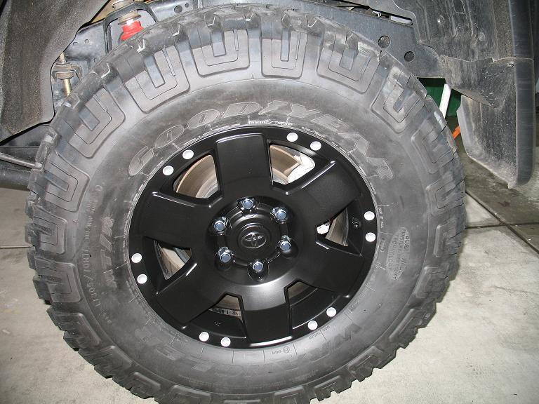 PAINTING YOUR FJ WHEELS: Inst. w/ pics - Toyota FJ Cruiser Forum
