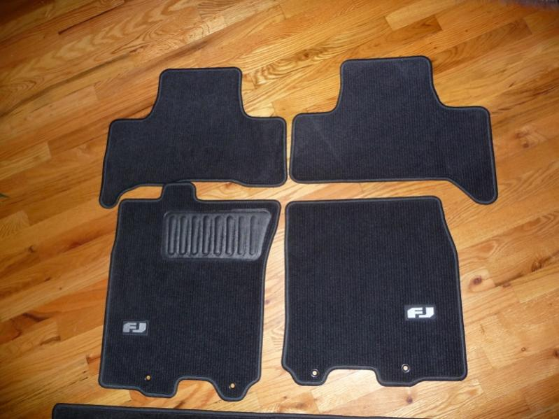 fj carpet floor mats toyota fj cruiser forum. Black Bedroom Furniture Sets. Home Design Ideas