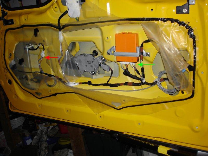 Rear Window Release Button Installation Toyota Fj