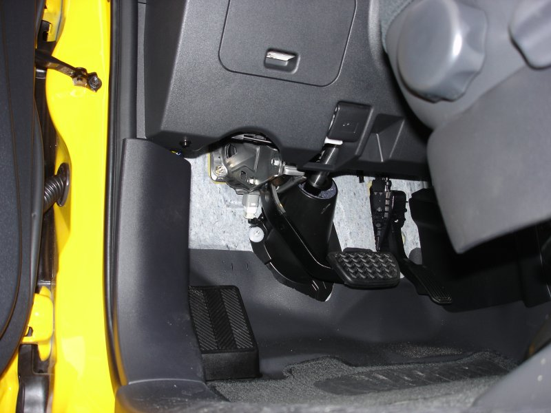Rear window release button - install - pics - Toyota FJ ...