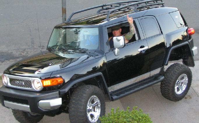 Toyota Fj Cruiser Trd. My FJ went from the dealer to