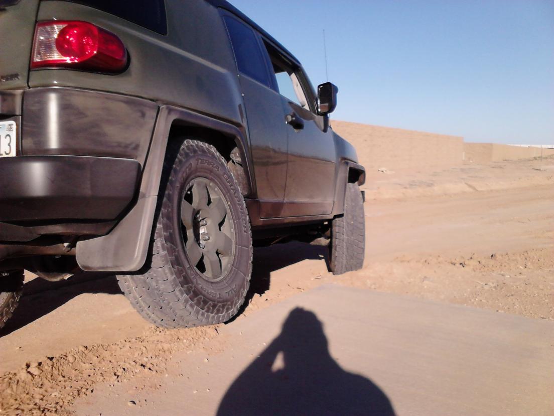 Fj Cruiser 285 75r17 >> LT285/75R17 E1 installed... like a BOSS - Toyota FJ Cruiser Forum