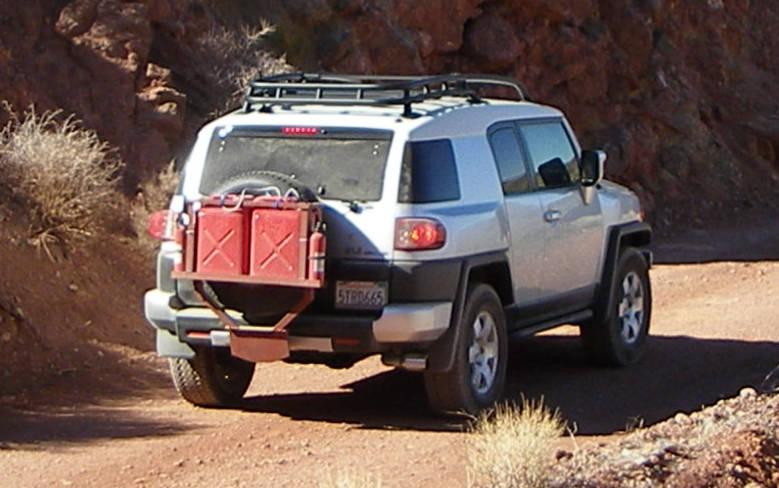 Gas Can Options Toyota Fj Cruiser Forum
