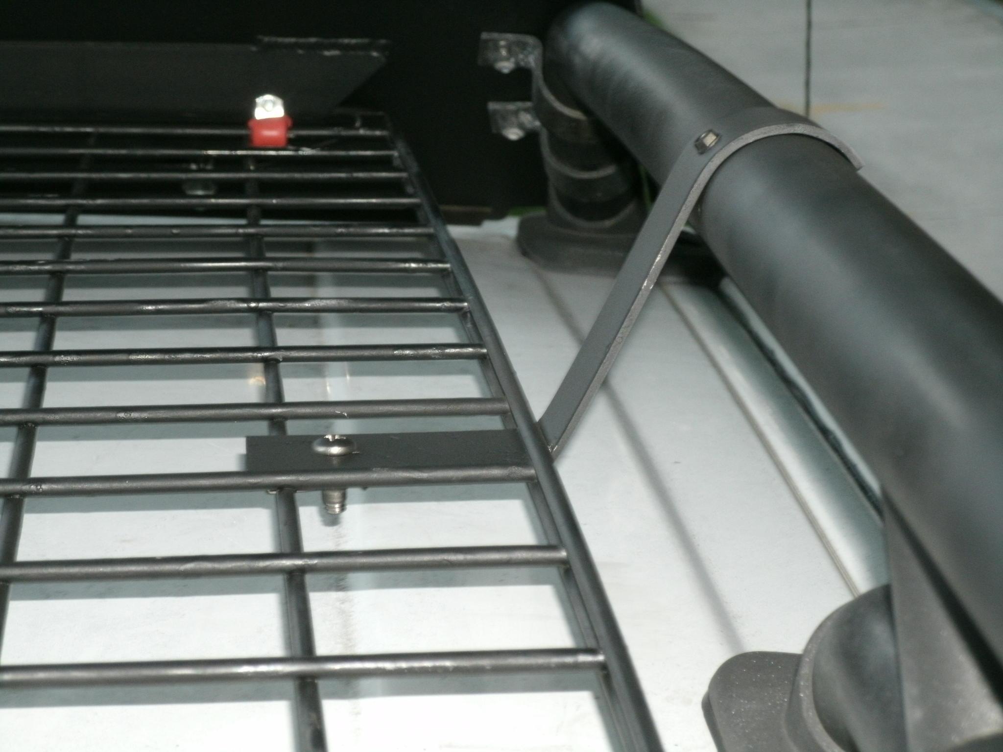 Roof rack - wire mesh deck + Ricochet air dam - Toyota FJ Cruiser Forum