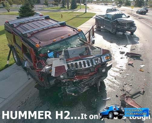 Toyota Hummer Joust Detroit News on H3 vs FJ  Page 2  Toyota