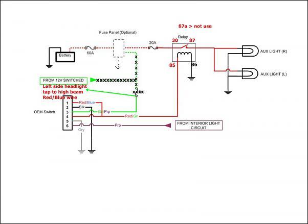 Toyota Oem Aux Light Switch - Page 2
