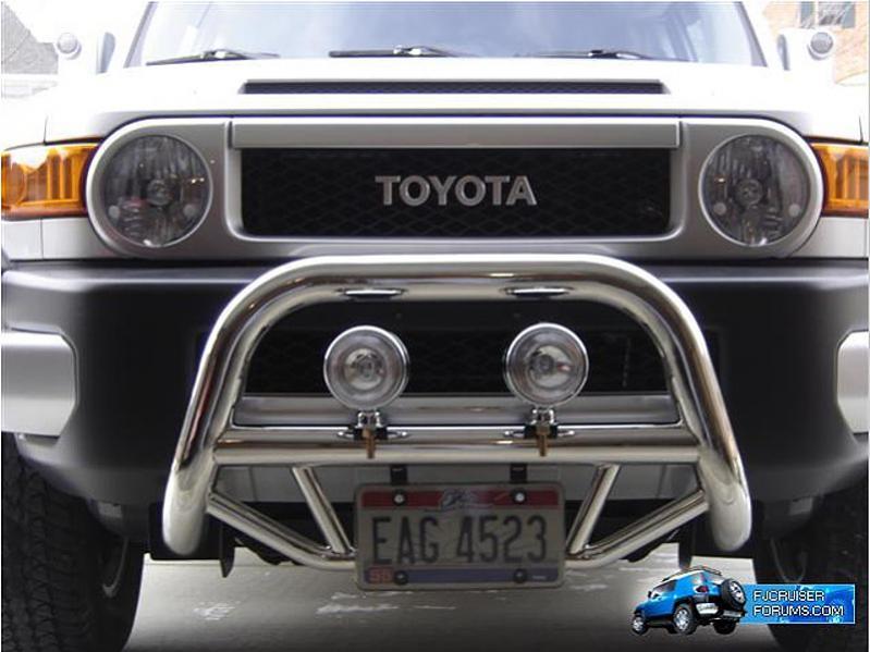 How Does Hunter Bull Bar Install Toyota Fj Cruiser Forum