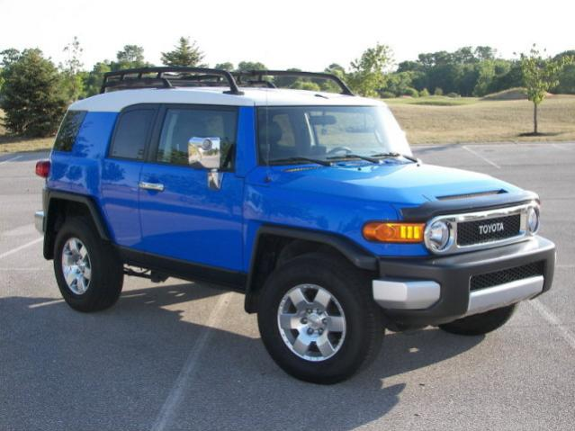 2008 Voodoo Blue FJ Cruiser  Toyota FJ Cruiser Forum