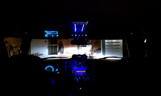 D Overhead Console Yuryz Style Imag on Fj Cruiser Fog Lights