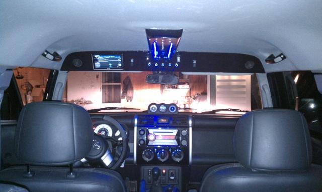 D Overhead Console Yuryz Style Imag A on Fj Cruiser Fog Lights