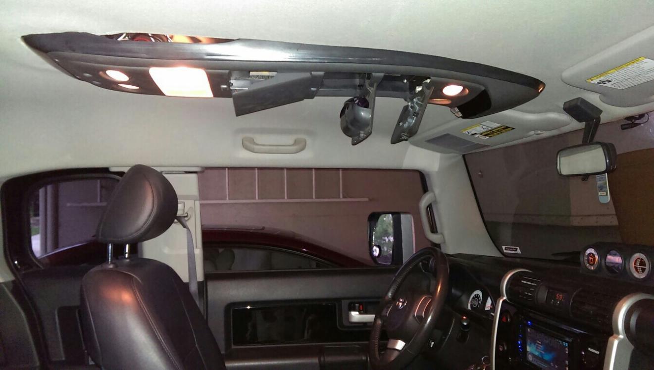Overhead Console Toyota Fj Cruiser Forum
