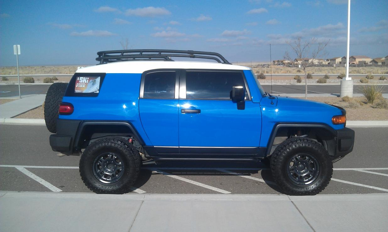 07 VooDoo Blue FJ for sale 25k OBO Albuquerque NM  Toyota FJ