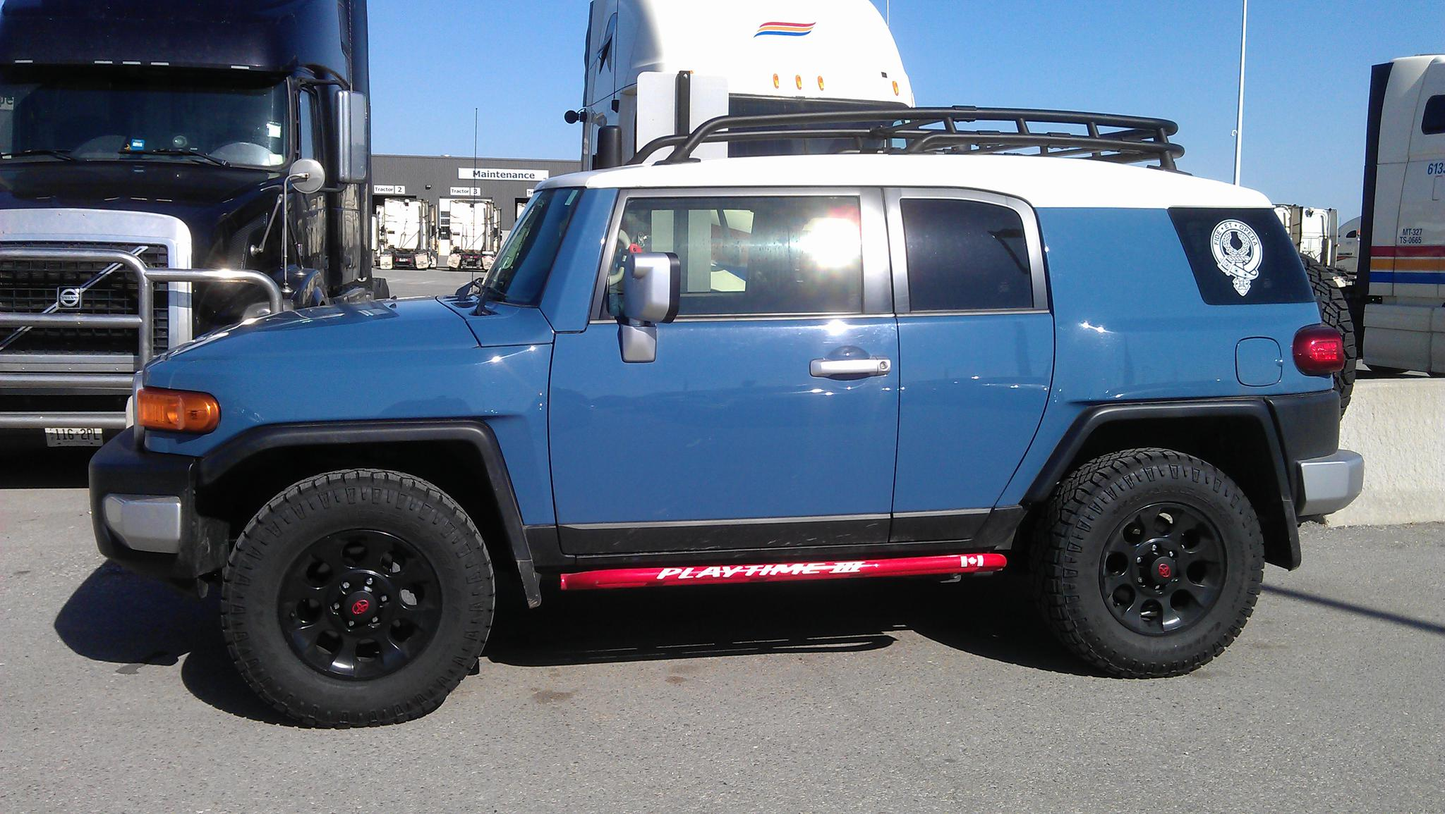 The Official Cavalry Blue FJ Photo Thread  Page 16  Toyota FJ