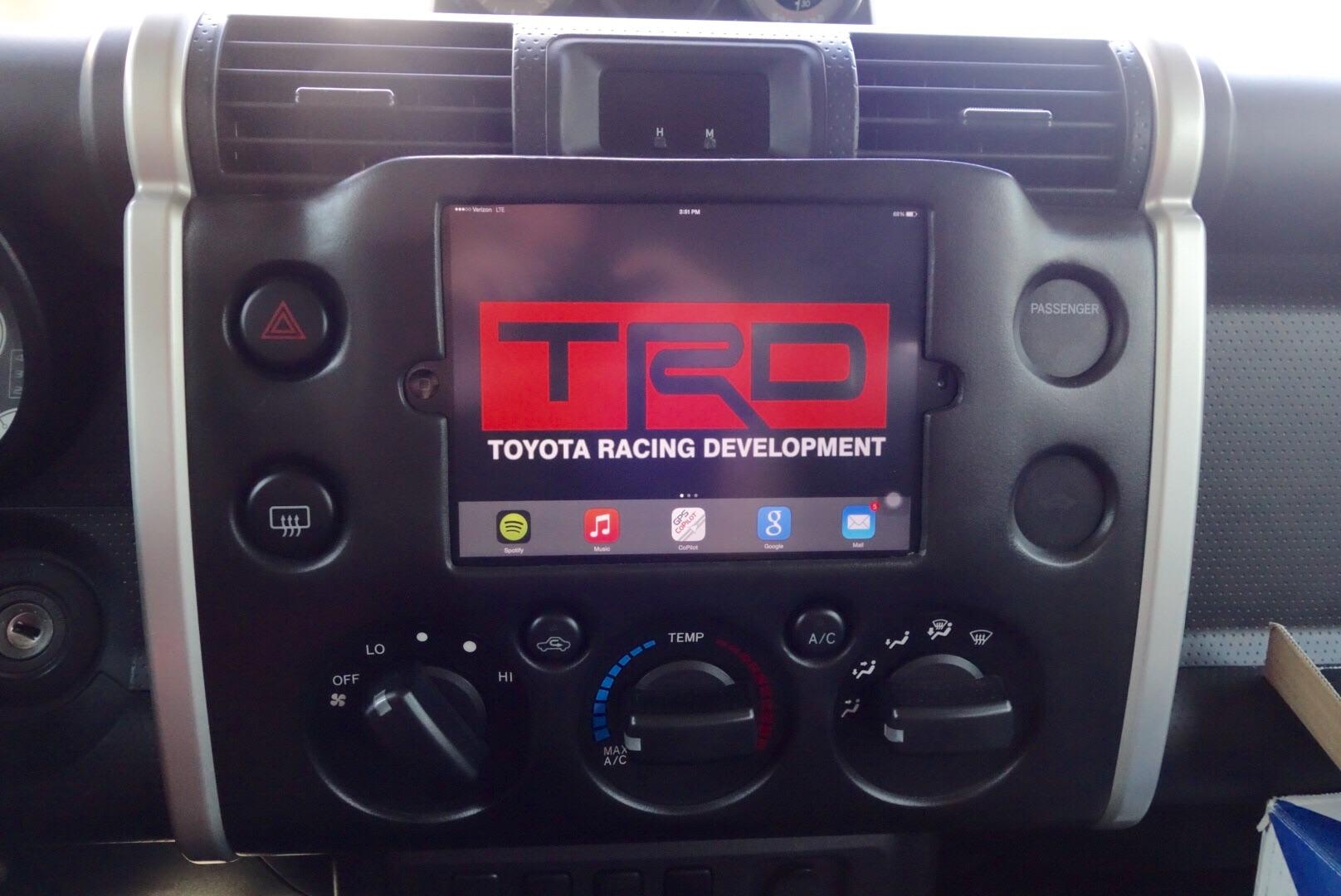 Toyota Fj Cruiser Forum View Single Post Radio Bezel