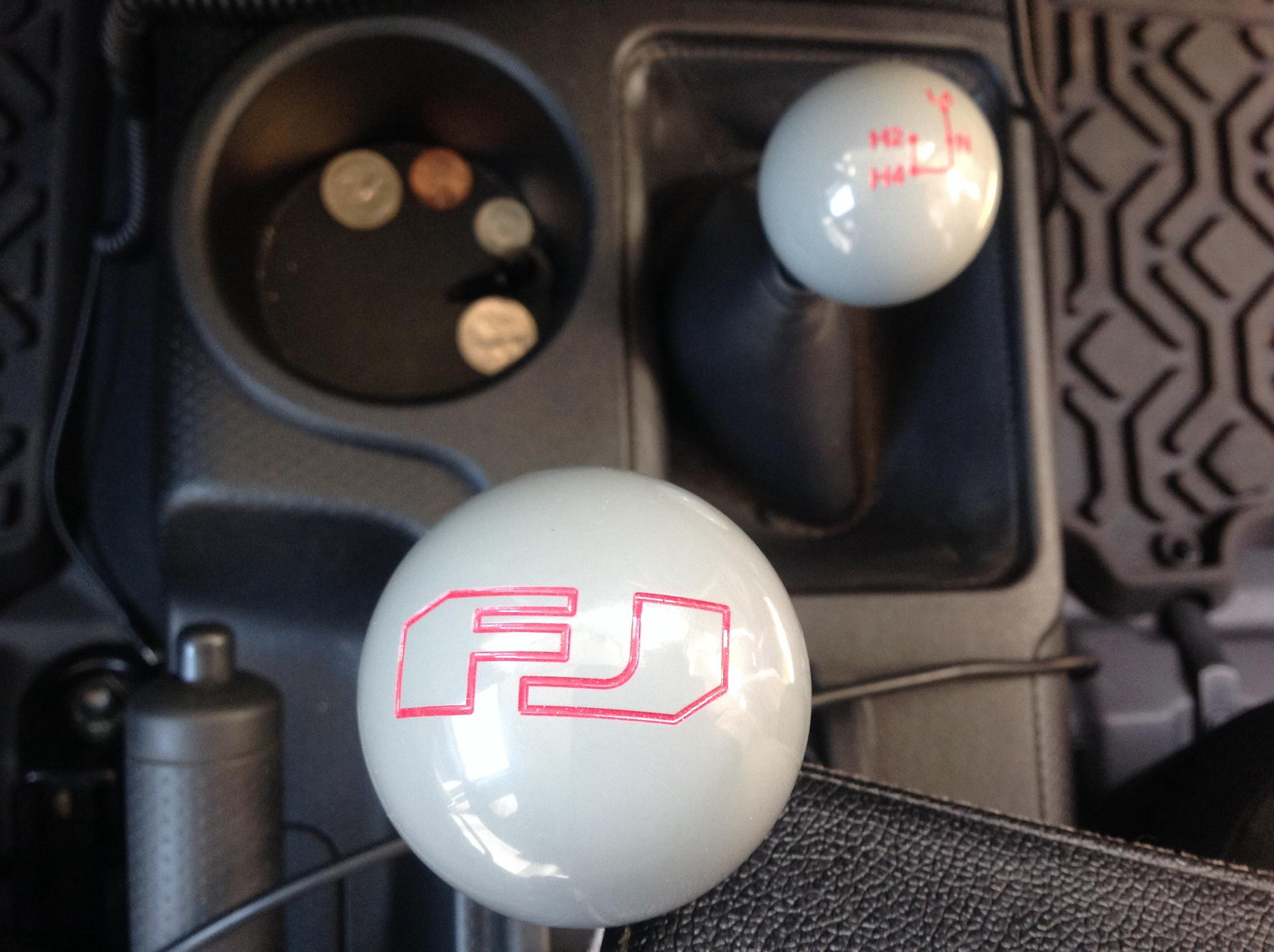 Lets see them custom SHIFT KNOBS Toyota FJ Cruiser Forum