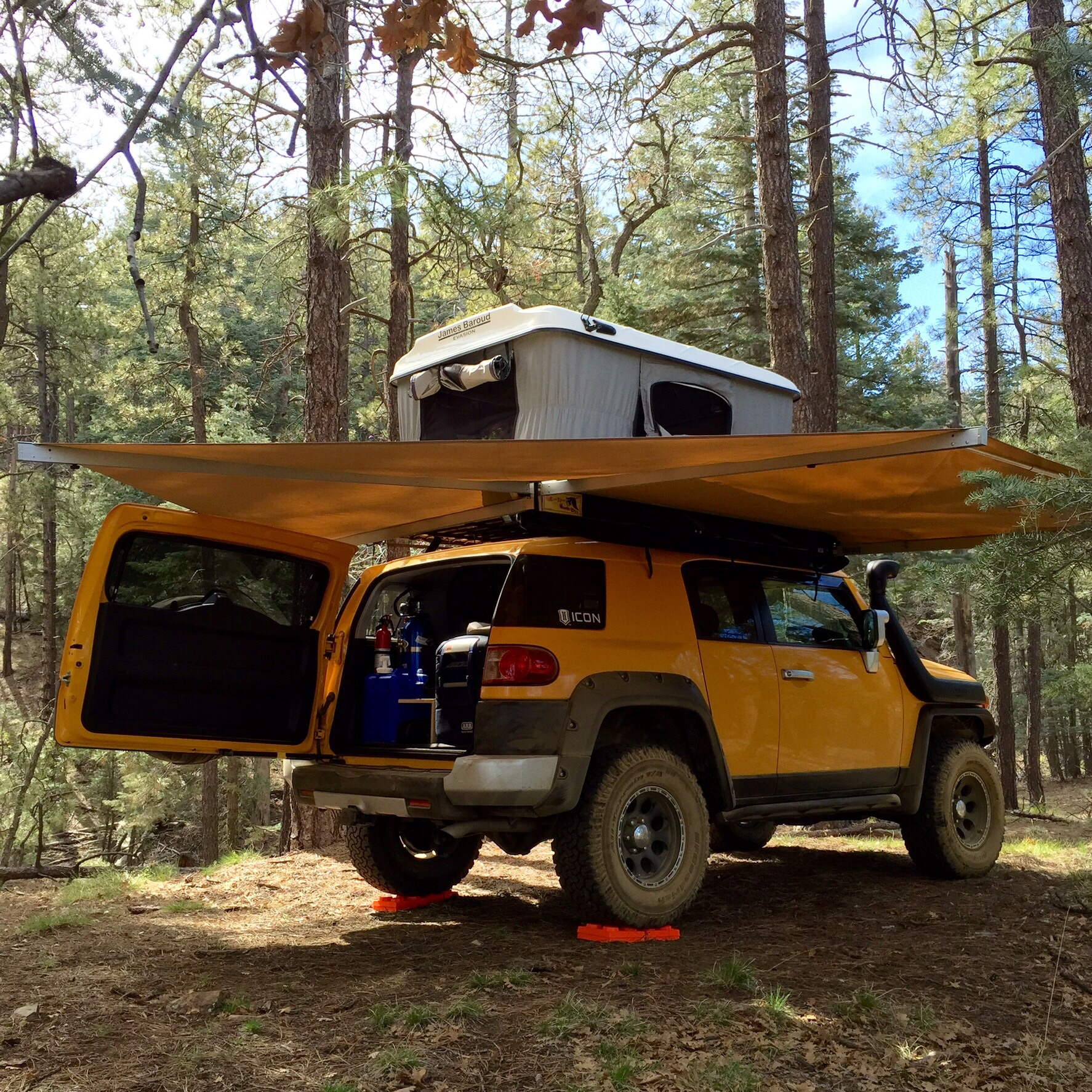Show Me Your Awnings Page 4 Toyota Fj Cruiser Forum