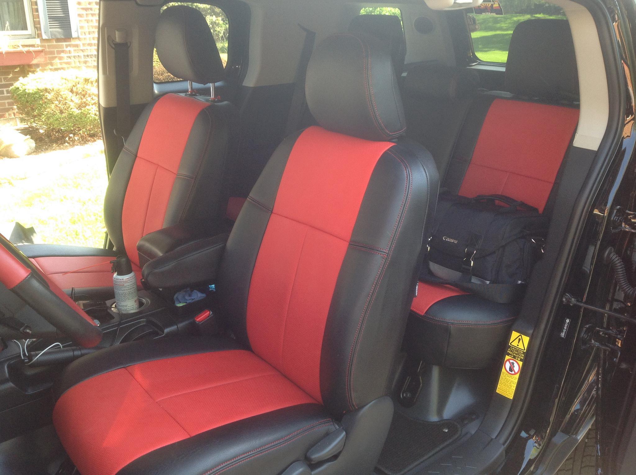 Rhino Liner Cost >> Seat Covers for FJ CRUISER 2006+ - Toyota FJ Cruiser Forum