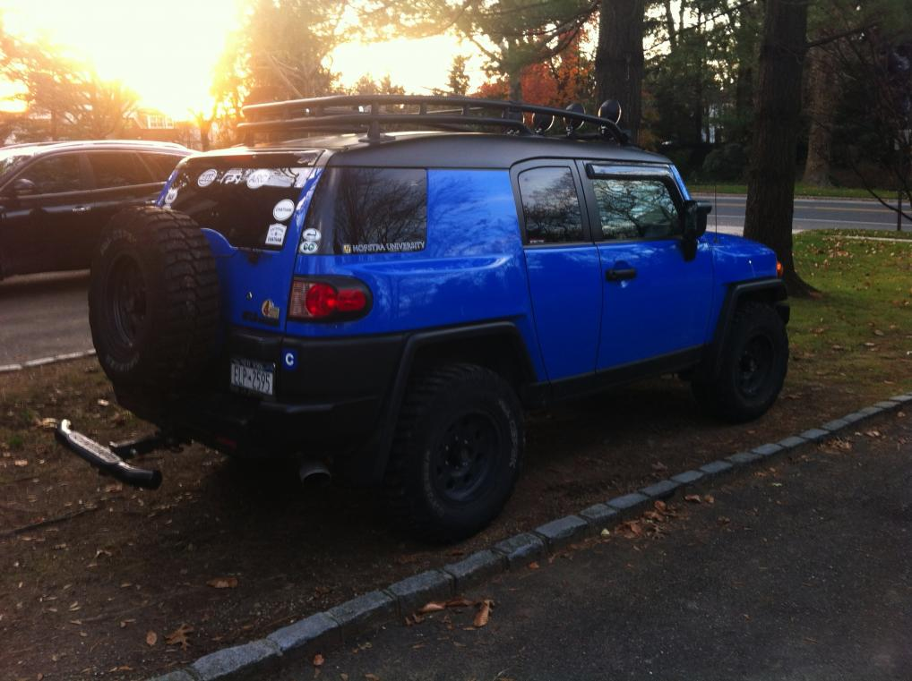 TT mirrors on blue FJ  Page 2  Toyota FJ Cruiser Forum