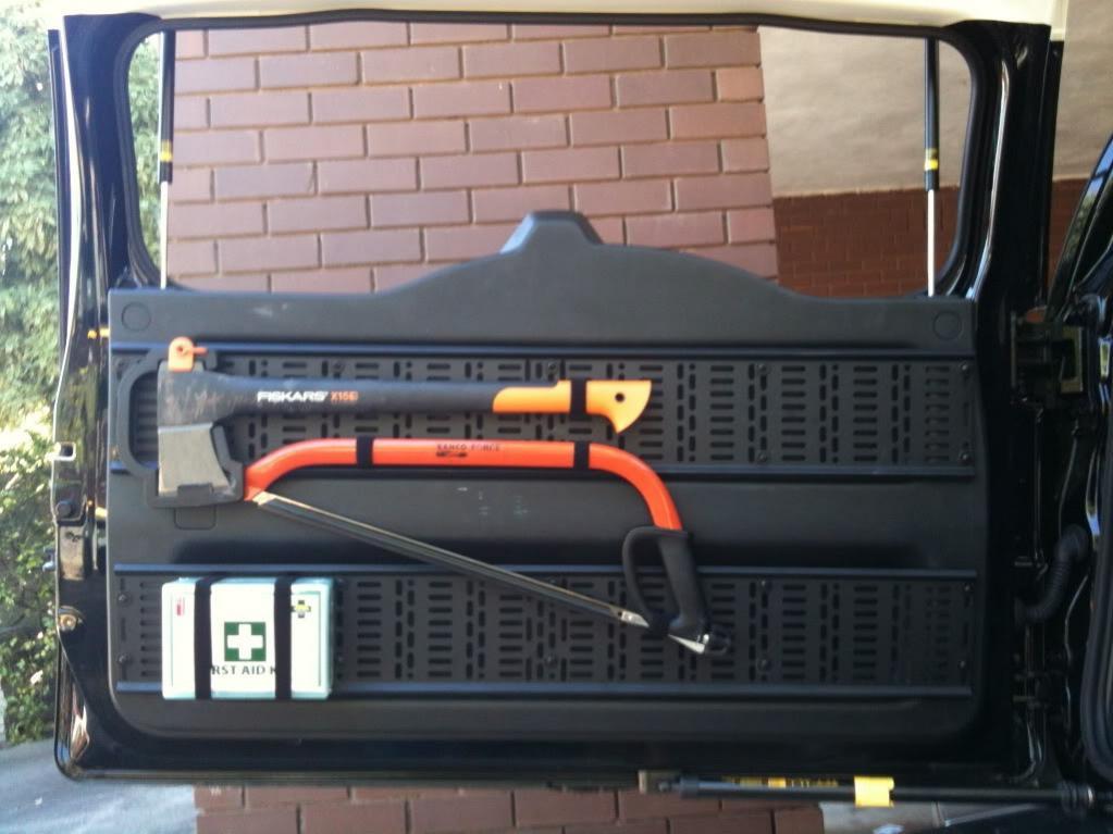 Diy Rear Door Storage Rack Page 2 Toyota Fj Cruiser Forum