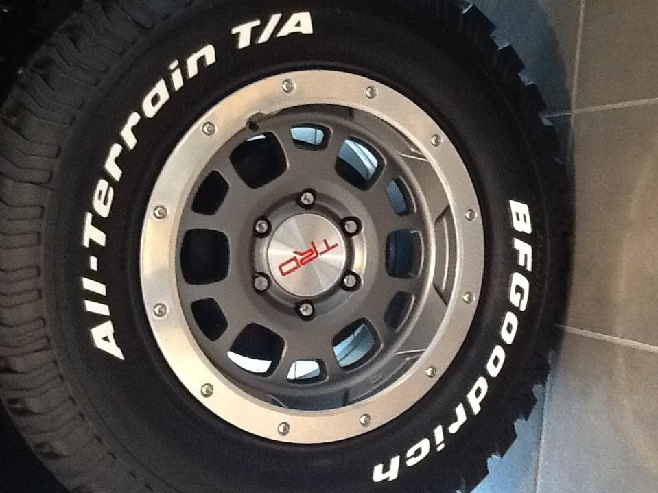 New Beadlock Trd Wheels Toyota Fj Cruiser Forum