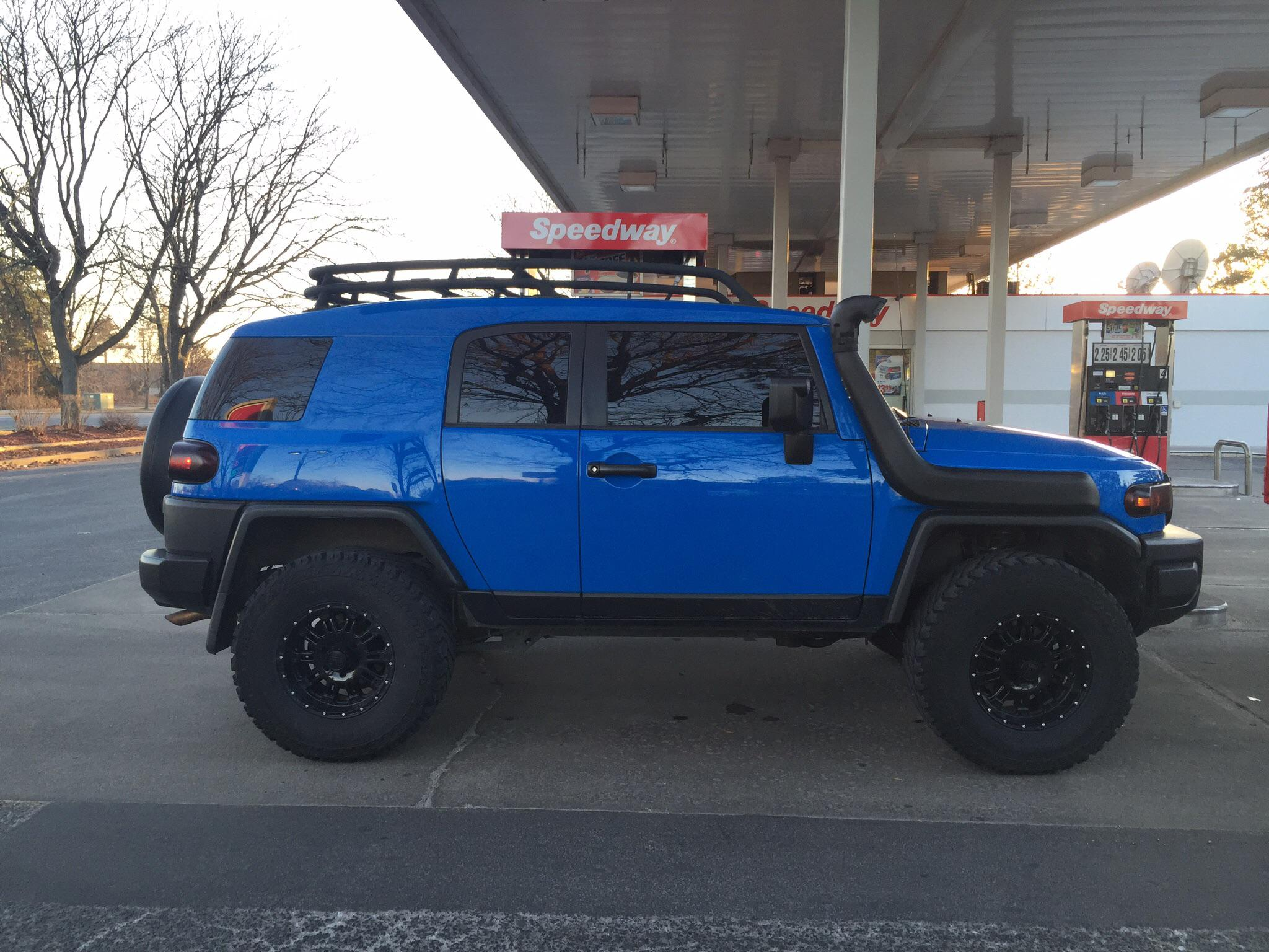 The Blue Ox Is For Sale 2007 Fj Cruiser Toyota Fj
