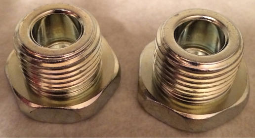 Part #'s and Pics for Washers and Plugs for Front and Rear