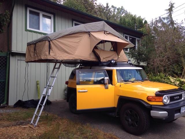 Roof Top Tent on OEM Rack?-imageuploadedbyag-free1448153238.620534.jpg & Roof Top Tent on OEM Rack? - Toyota FJ Cruiser Forum